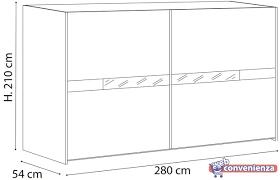 armadio altezza 210 lidia armadio scorrevole l 280 scorrevole vendita web