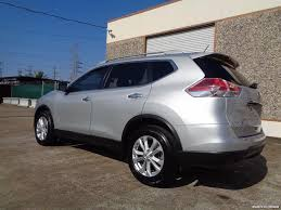 silver nissan rogue 2015 2015 nissan rogue sv for sale in houston tx stock 15110