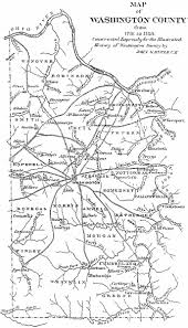 County Map Pennsylvania by Washington County Genealogy Pagenweb Project Washington County