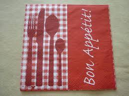 serviette cuisine album serviette theme cuisine le de vivi création