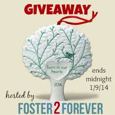 win an adoption ornament from hallmark giveaway foster2forever