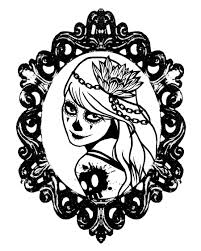 sugar skull coloring pages search obsessed with