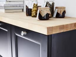 cuisine plan de travail en bois plan de travail pour cuisine matériaux cuisine maison créative