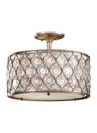 sf289bus 3 light indoor semi flush mount burnished silver