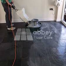 slate floor cleaning and sealing floor care