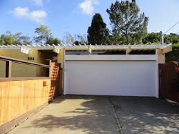 Modern Overhead Door by The Garage Before And After Eichler Blog
