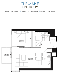 1 Bedroom Condo Floor Plans by Toronto Investment Condos For Sale