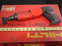 hilti powder actuated fastening 076974 dx400 ebay