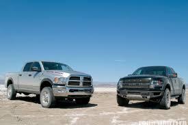 dodge vs ram ford f 150 raptor vs 2010 ram power wagon