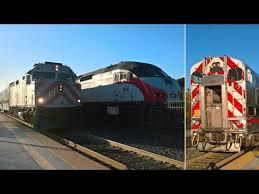 caltrain railfanning at california avenue