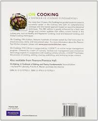 on cooking a textbook of culinary fundamentals and study guide