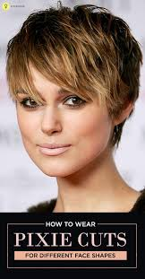 how to sport pixie hairstyle for different face shapes pixie