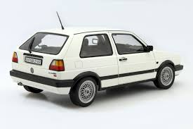 white volkswagen golf volkswagen golf ii gti g60 1990 white die cast model norev 188443