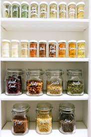 how to store food in a cupboard how to keep your pantry clean and organized martha stewart