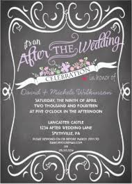after wedding invitations post wedding party invitations u2013 frenchkitten net