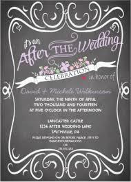 post wedding party invitations u2013 frenchkitten net