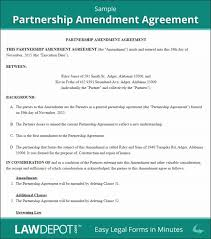 partnership operating agreement template agreement templat