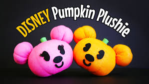 halloween socks diy disney mickey pumpkin sock plushie for halloween free pattern