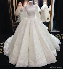 wedding dress for muslim middle east 2017 muslim wedding dresses sleeve lace applique
