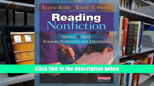 read online reading nonfiction notice note stances signposts