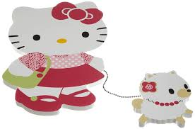 amazon com bedtime originals hello kitty and puppy wall hanging amazon com bedtime originals hello kitty and puppy wall hanging pink discontinued by manufacturer nursery wall hangings baby