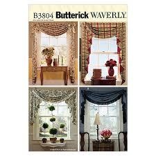 butterick swags u0026 jabots pattern b3804 size osz discount