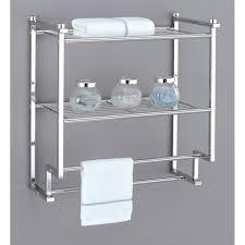 Wall Mounted Bathroom Shelving Units by Bathroom Wall Shelving Units Pennsgrovehistory Com