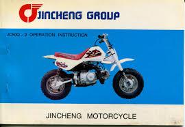 jincheng motorcycle jc50q 9 operation instruction manual