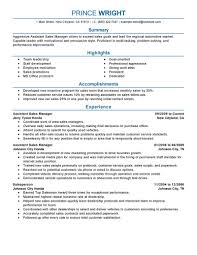 Free Assistant Manager Resume Template 11 Amazing Automotive Resume Examples Livecareer
