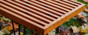 how to make a diy george nelson inspired outdoor slat bench man