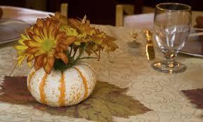 decoración de la mesa para thanksgiving vix