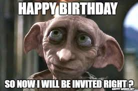 Harry Potter House Meme - 15 harry potter funny birthday meme happy wishes