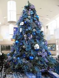 blue white silver decorations search