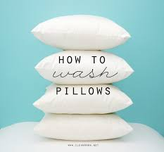 How To Arrange Pillows On King Bed How To Wash Pillows Clean Mama
