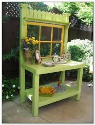 Outdoor Potting Bench With Sink Outdoor Potting Bench With Sink Sinks And Faucets Home Design