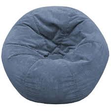 gold medal sueded corduroy bean bag chair