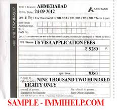 sample axis bank deposit slip us visa fee in india