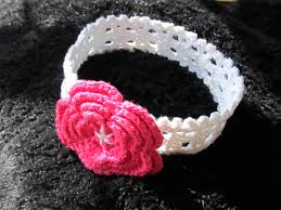 crochet baby headband stretchy crochet baby headband pattern crochet and knit