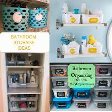 Bathroom Storage Containers Storage Ideas Bathroom Design Shared Bath Bathroom