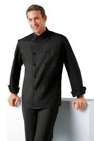 veste de cuisine homme noir de cuisine col italien veste de cuisine liege veste cuisine homme