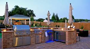 outdoor kitchen lighting ideas modern outdoor kitchen design quecasita
