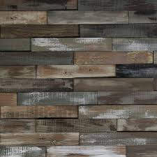 nuvelle deco planks weathered gray 1 2 in thick x 2 in wide x 12