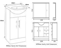 Bathroom Cabinet Height Bathroom Sink Amazing Standard Height Bathroom Vanity Sink Ideas