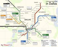 Dallas Ft Worth Airport Map by Dallas The Transport Politic