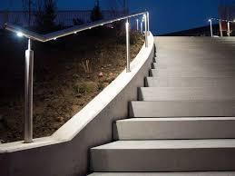 corrimano luminoso corrimano con led q led by q railing italia