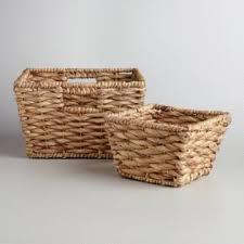 Baskets Decorative Storage U0026 Wicker Weave Baskets World Market