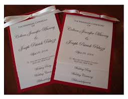 layered wedding programs wedding collection nowadays wedding programs exles wedding