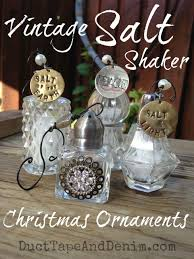 vintage salt shaker ornament tutorial gift crafts diy
