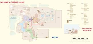 Michigan Casinos Map by Las Vegas Caesars Palace Hotel Map