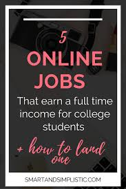 online jobs for college students u2014 taylor stanford
